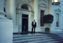 24 - THE 8TH INTERNATIONAL ELECTRIC VEHICLE SYMPOSIUM - EVS 8, WASHINGTON, DC, USA (20-23 OCTOBER 1986) - THE WHITE HOUSE - AFTER BREAKFAST WITH THE PRESIDENT RONALD REAGAN