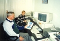 BOGDAN FIJALKOWSKI AND TOMASZ NOWICKI AT COMPUTERS (1998)
